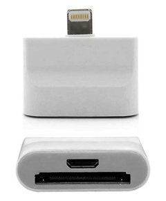 Apple Lightning to micro USB адаптер для iPhone 5/iPad mini/iPad  4 (белый)