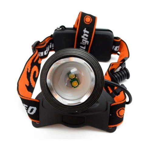 Фонарь налобный MX-2199-2 white/blue CREE XML-T6 headlamp фото 3