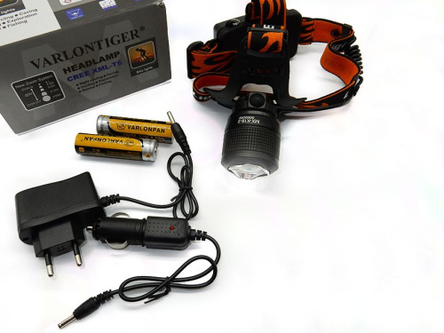 Фонарь налобный CREE XML-T6 headlamp white/red LED MX-K18-2 фото 8
