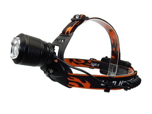 Фонарь налобный CREE XML-T6 headlamp white/red LED MX-K18-2 фото 3