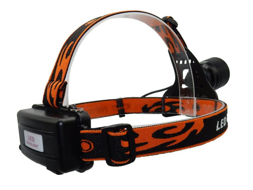 Фонарь налобный CREE XML-T6 headlamp white/red LED MX-K18-2 фото 5