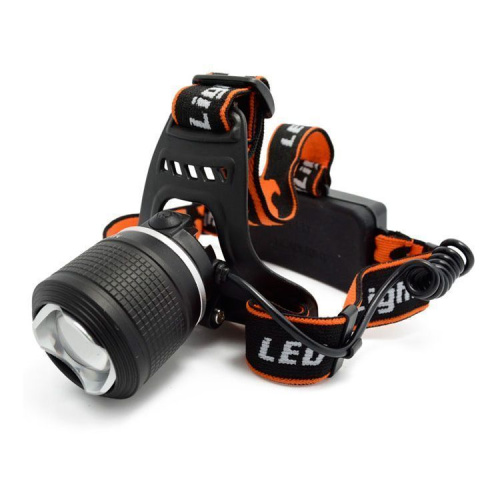 Фонарь налобный MX-2199-2 white/blue CREE XML-T6 headlamp фото 2